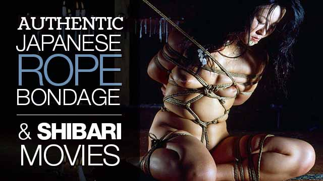 Authentic Japanese Rope Bondage & Shibari Movies